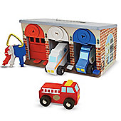 Melissa and Doug Lock and Roll Rescue Truck Garage