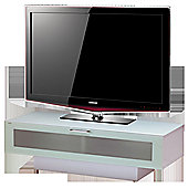 High Gloss White TV Stand For Up To 50 inch TVs