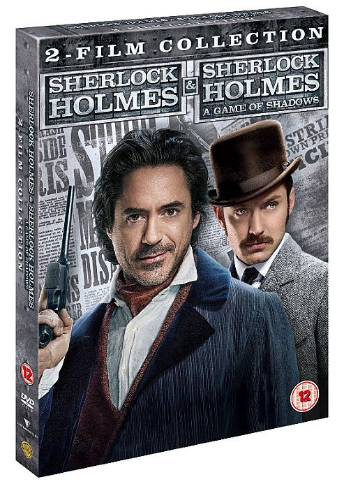 Sherlock Holmes: A Game Of Shadows (DVD Boxset)
