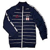 Respect England Kids Football Tracksuit Jacket - Navy