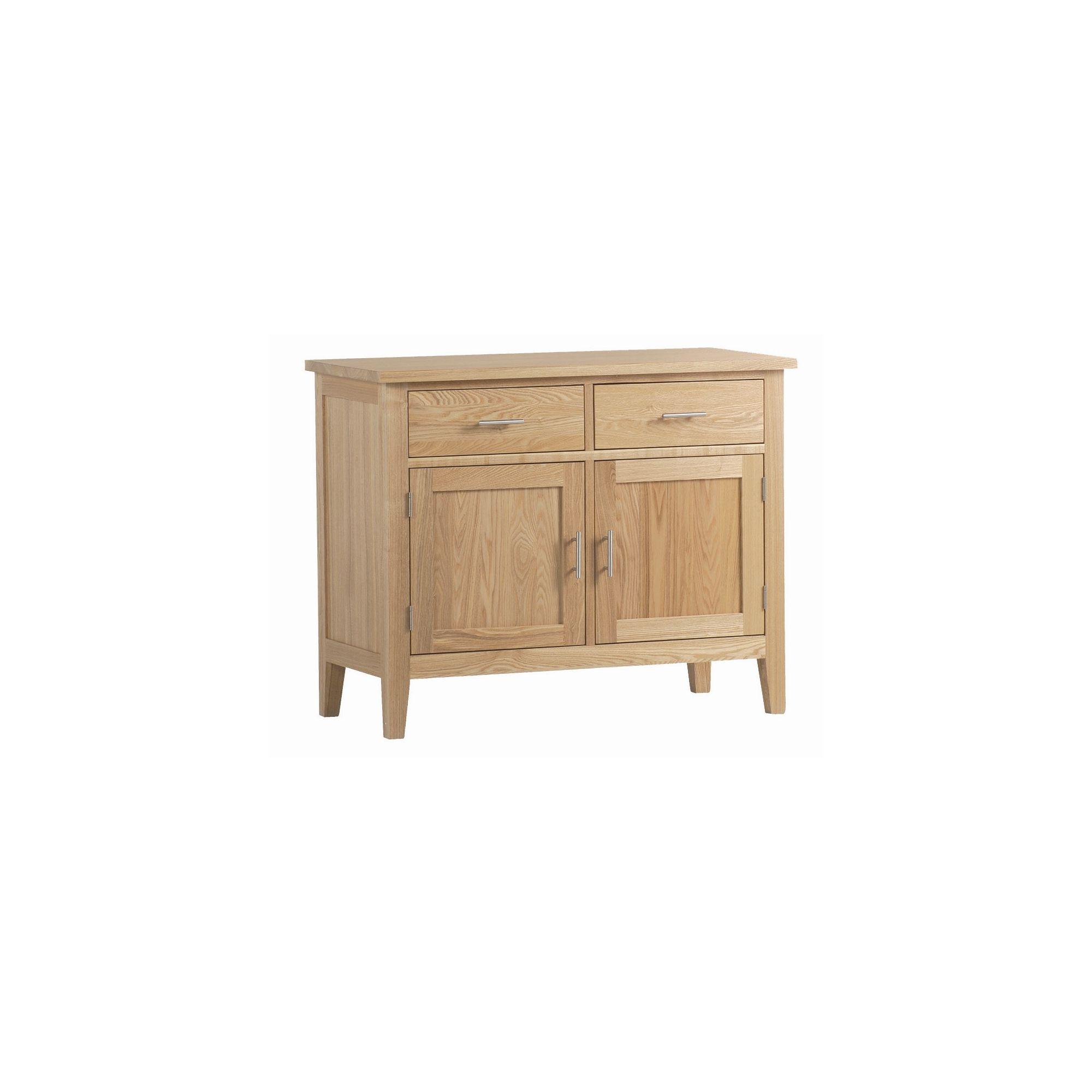 Kelburn Furniture Carlton Ash 2 Door Sideboard with 2 Drawers at Tesco Direct