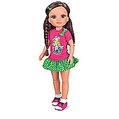 Nancy Hair Braids Doll - Brunette