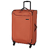 IT Luggage Megalite 4-Wheel Suitcase, Coral Rose Medium