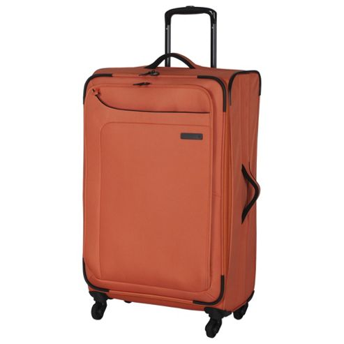 buy it luggage megalite 4 wheel medium coral rose suitcase. Black Bedroom Furniture Sets. Home Design Ideas
