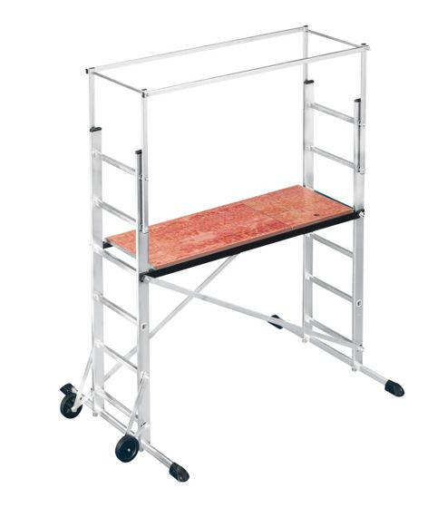Hailo 300cm ProfiStep multi aluminium Mobile Ladder Scaffold