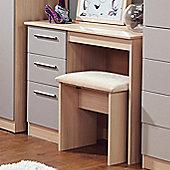 Welcome Furniture Contrast Desk - Mushroom