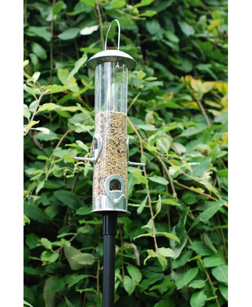 Heavy duty feeder pole