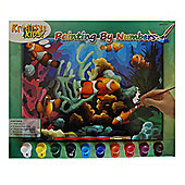 Kreative Kids Painting By Numbers Fish