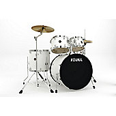 Tama Rhythm Mate 5 Piece Drum Kit With Hardware And Cymbals - White RM52KH5C-WH