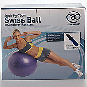 Studio Pro 500kg Anti-Burst Swiss Ball - 75cm