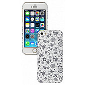 iPhone 5/5S Case White Floral
