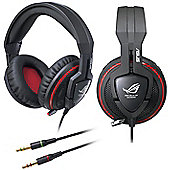 ASUS ROG Orion Gaming Headset with Microphone 50mm Neodymium Magnet Drivers 100dB Headphone Sensitivity 20Hz-20000Hz Response 2.5m Cable