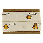 Ribbon Matchbook - Yellow and Brown Pictures