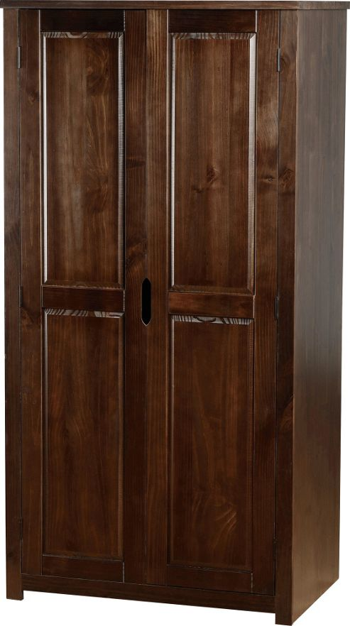 Home Essence Eclipse 2 Door Wardrobe - Walnut
