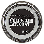Maybelline Color Tattoo Eyeshadow Timeless Black 60