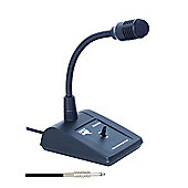 Professional Base Station PA Microphone