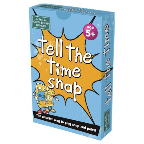 Green Board Game Co. Tell The Time Snap