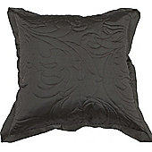 Scatter Box Juliette Quilted Cushion - Duck Egg