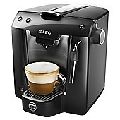 AEG LM5200BK-U Lavazza A Modo Mio Favola Plus Pod Coffee Machine - Piano Black