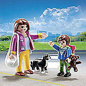 Playmobil City Life Mother With School Child Duo Pack