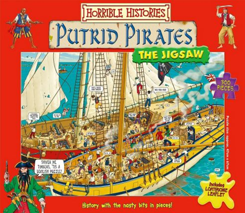 Horrible Histories - Putrid Pirates - The Jigsaw - Galt