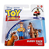 Toy Story Buddy Pack Hero Woody And Bullseye