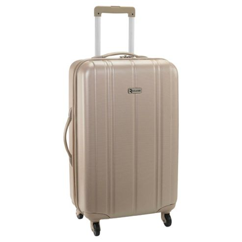 Revelation by Antler Zygo 4-Wheel Hard Shell Suitcase, Champagne Medium