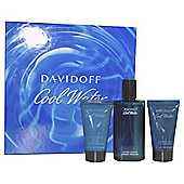 Davidoff Cool Water 75ml Aftershave, 50ml Shower Gel & 50ml Shaving Balm