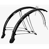 "26"" Mountain Bike Full Mudguards Black"