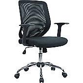 Enduro Full Back Operator Chair in Black