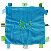 Label Label Square Comfort Blankie (Green/Blue)