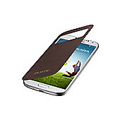 Galaxy S4 S-View Cover Sedna Brown