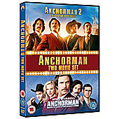 Anchorman 1 & 2 DVD