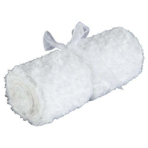 Tesco Loves Baby Rose Blanket White