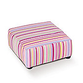 Just 4 Kidz Kids Footstool - Candy Stripe