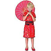 Chinese Girl - Child Costume 7-8 years