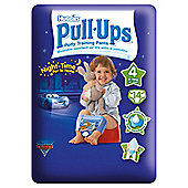 Huggies Pull Ups Potty Training Pants - Size 4 - Boy - Night Time - 14 Pants