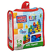 Mega Bloks build n learn abc spell