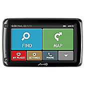 "Mio 697 LTM 5"" UK Lifetime Maps and Traffic With Bluetooth"