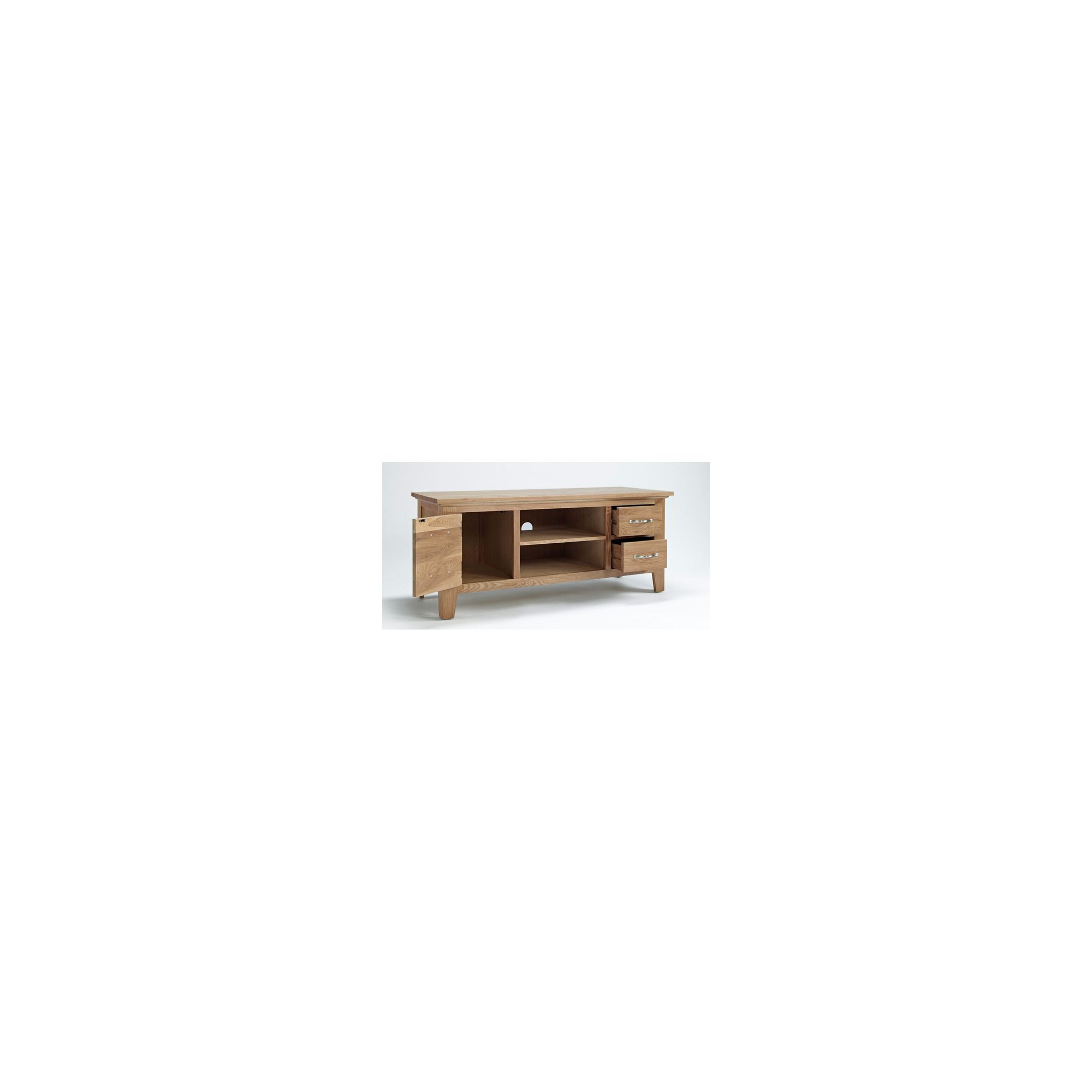 Ametis Cambridge Oak TV Unit - 120cm at Tesco Direct