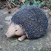 Small Lifelike Resin Hedgehog Ornament For The Garden