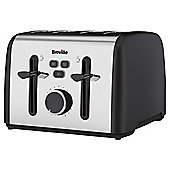 Breville Colour Notes VTT630 4 Slice Toaster - Black