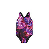 F&F Galaxy Print Swimsuit - Multi