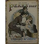 "Alterton Furniture ""Pears Soap"" Plaque"