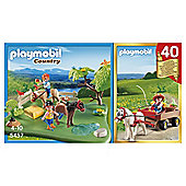 Playmobil Pony 40th Set