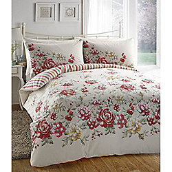 Dreams n Drapes Deborah Red Single Quilt Set