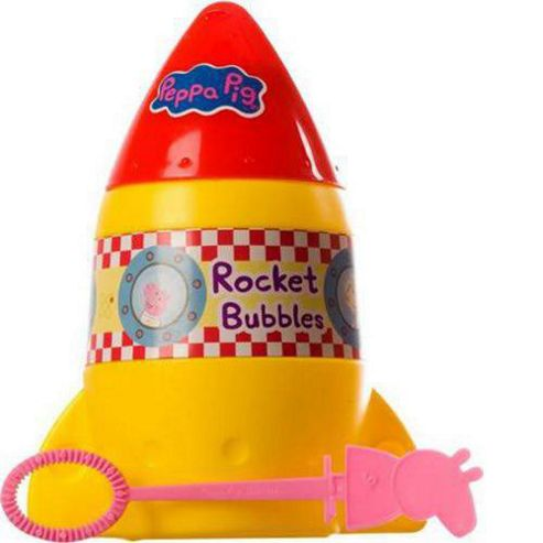 Peppa Pig Rocket Bubbles
