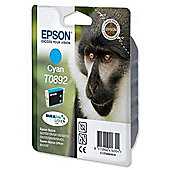 Epson DURABrite T0892 Ink Cartridge - Cyan (Inkjet - 1)
