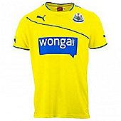 2013-14 Newcastle 3rd Football Shirt - Yellow