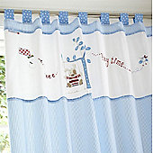 Izziwotnot Time to Play Tab Top Curtains (Petit Henri)